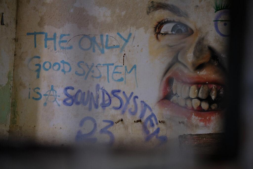 Only the soundsystem