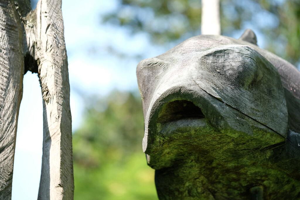 Weltwald sculpture III